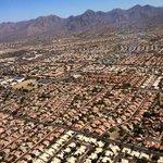 View of Phoenix neighborhoods