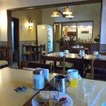Mendoza, Argentina, Hotel Kapac. Comedor.