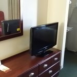 dresser with hd tv