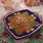 Vegetable soup - very ordinary