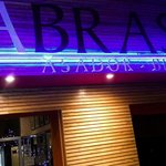 Abrasa BBQ Grill Front sign