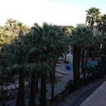 View from 4th floor Regency Club