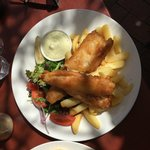 Fish N Chips Lunch Menu Selection