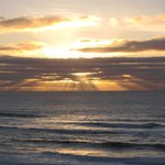 Ocean Terrace Sunset