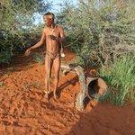 Bushman walk mit den San
