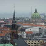 Copenhagen from the tower of the City Hall