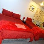 Our beautiful velvet room