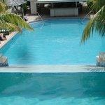 Beautiful pool..cool water...not warm...niiiiice!