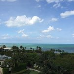 View from 5th floor.  Partial ocean view room.