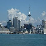 Auckland across the water