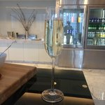 More bubbles from the Club Lounge