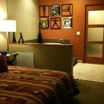 Master Bedroom-view to jacuzzi & shower/toilet beyond pocket door