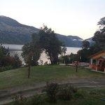 El lago ,el mirador y parte del restaurante