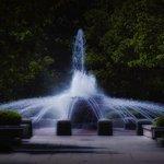 A Campus Fountain