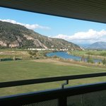 Balcony mountain view