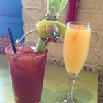 $4 Bloody Mary/$2 Mimosas