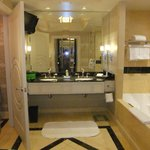 Wonderfully spacious washroom