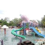 Aqua park (only a part of it)