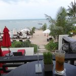 view from the beach/pool bar
