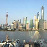 View of Pudong from river view room