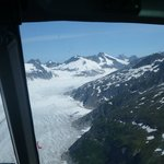 The Mendenhall Glacier from the air