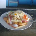 Special seafood lunch or dinner