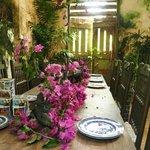 An enchanting dinning room