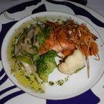 Repas au restaurant à la carte Pescador