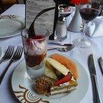Dessert au buffet