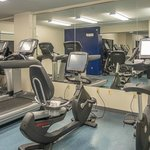 Exercise room on second floor