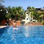 Swimming pool at Amazing Bagan