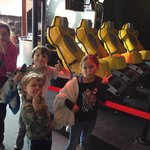 One of the rides ... Kids happy after the experience