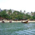Leaving Tonsai Bay