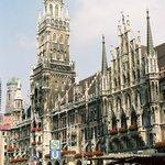 New Town Hall (Neus Rathaus) Marienplatz Munich
