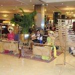 Lobby entertainment