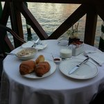 Breakfast by the Grand Canal