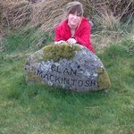 At Culloden Moor, 16 April 2014. 268 years on!!
