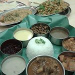 Delicious thali