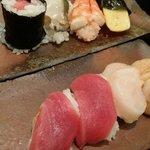 Delicious sushi! Toro is amazing.