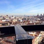 Aussicht aus der Dachterrasse