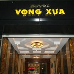 Front of Vong xua hotel , hotel room