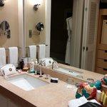 Our bathroom - Premier Ocean View ;-)