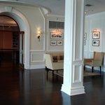 Inside the main hotel ;-)