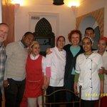 Toute l'équipe du Riad