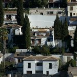 Le B&B vu de l'Alhambra
