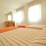 habitación camas gemelas apartamento T2