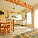 salón comedor apartamento T2