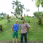 tengahari stroll at the Park with Malaysian  friend Ajay