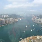 View from 80th floor hotel room