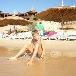 Вид с пляжа на Гриль-бар